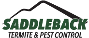 Saddleback Termite and Pest Control Logo